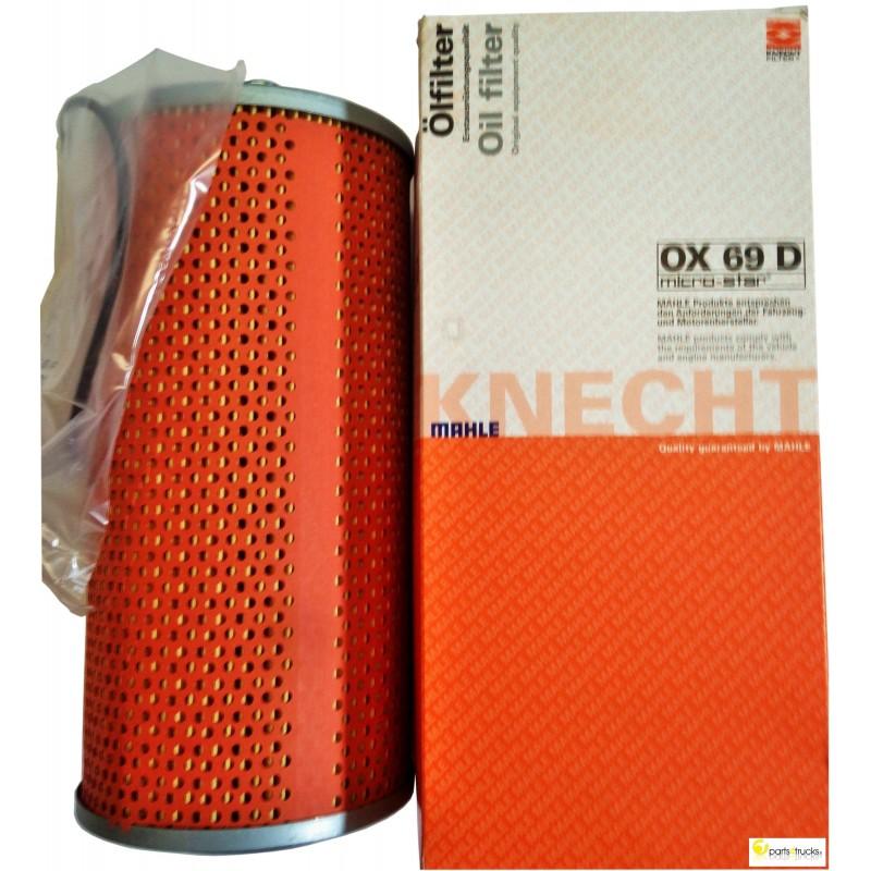 knecht mahle oil filter part code ox69d. Black Bedroom Furniture Sets. Home Design Ideas