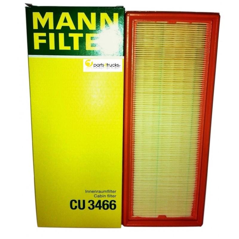 Mann Cabin Air Filter Part Code Cu 3466