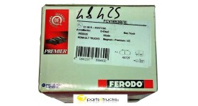 PASTIGLIE FRENO FERODO FCV1653BFE