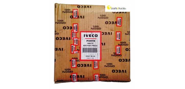IVECO BRAKE PADS 1906170